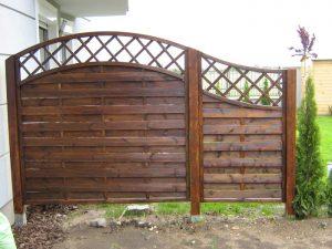 Lemellás kerítés